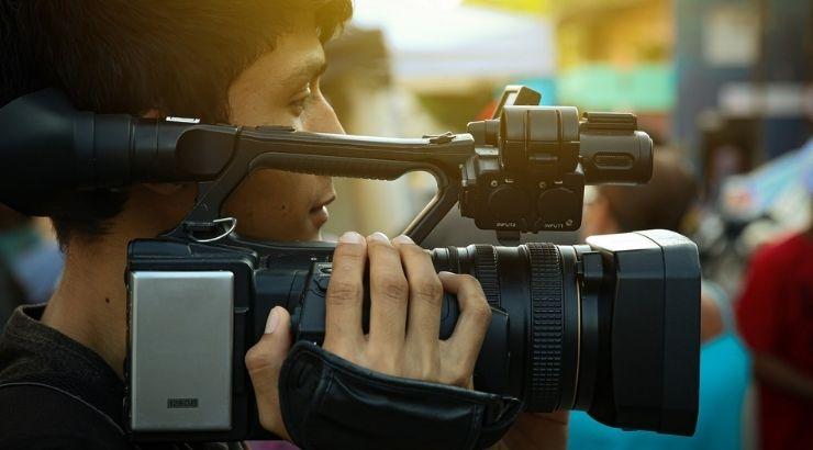 プロによる動画撮影